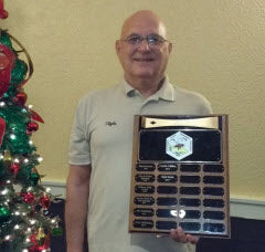 Clyde Steese Honored with Golden Hive Tool Award