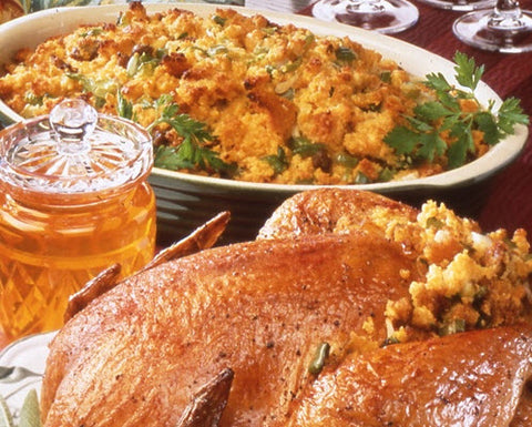 Honey Cornbread Stuffing