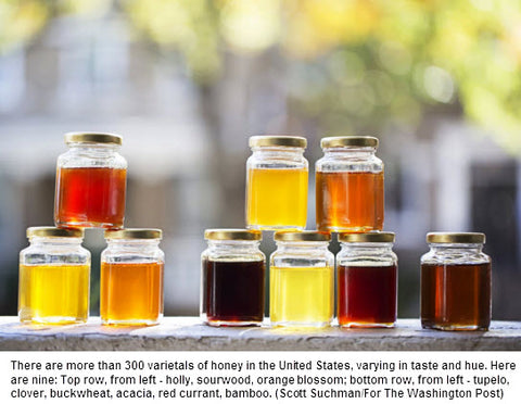 Honey May Be The Best Local Expression of Flavor