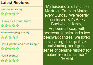 Bill's Bees Honey Reviews