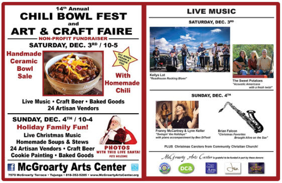 McGroarty Arts & Chili Bowl Fest