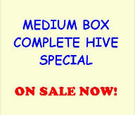 Bill's Bees Complete Hive (Medium Box) Special!