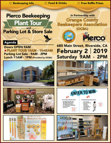 Pierco Beekeeping Plant Tour