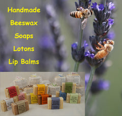 Bills Bees soaps, lip balm, lotions