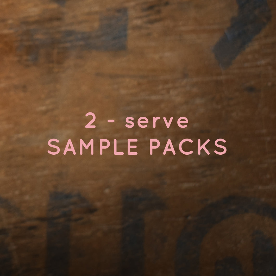 Organic Chai 2-serve Sample Packs Loose Leaf Tea
