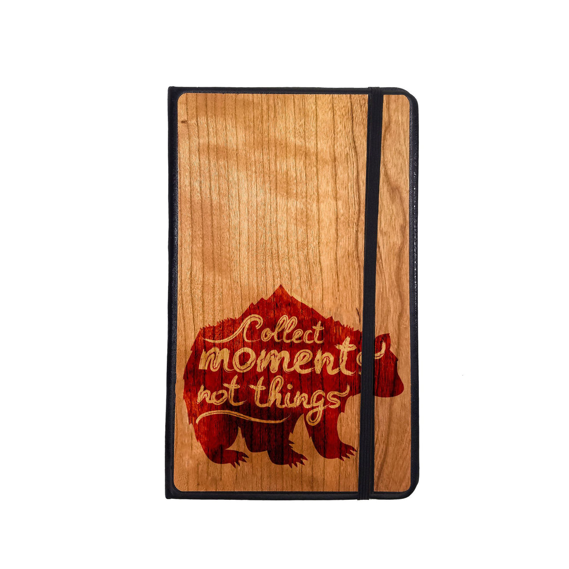 Stationary - Collect Moments - Wooden Journal - Maple / Pocket / Ruled Pages - District 31 - 1