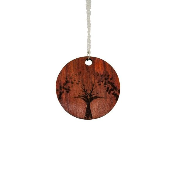 Necklace - Chakte Kok Tree Pendant -  - District 31