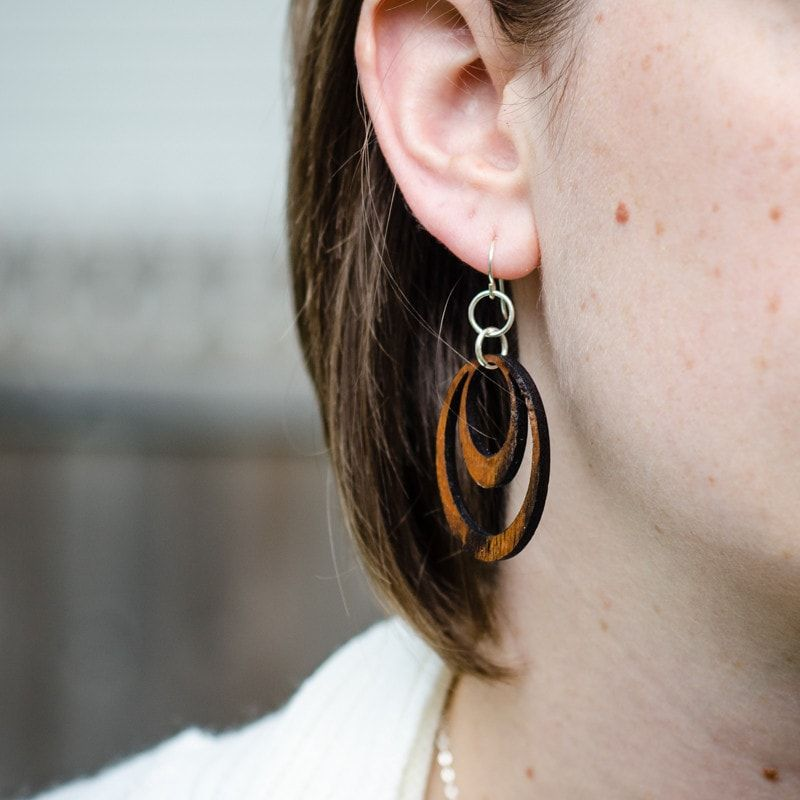 Earrings - Circle Earrings -  - District 31 - 1