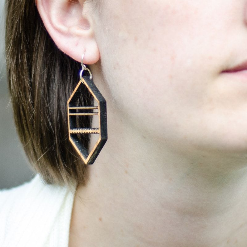 Earrings - The Betula Lightweights -  - District 31 - 1