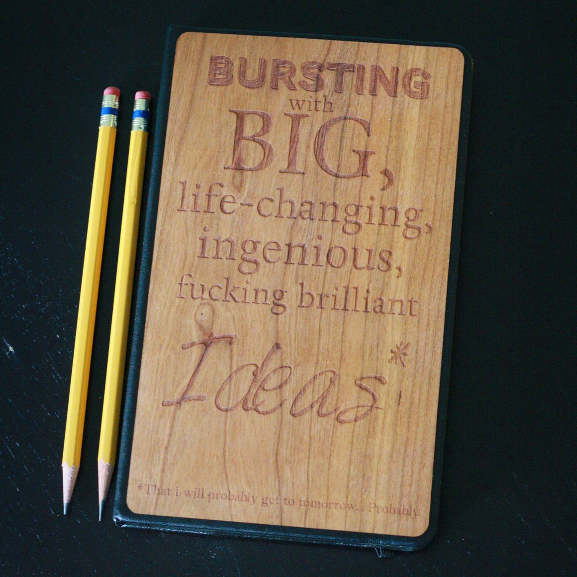 Big Ideas - Wooden Journal