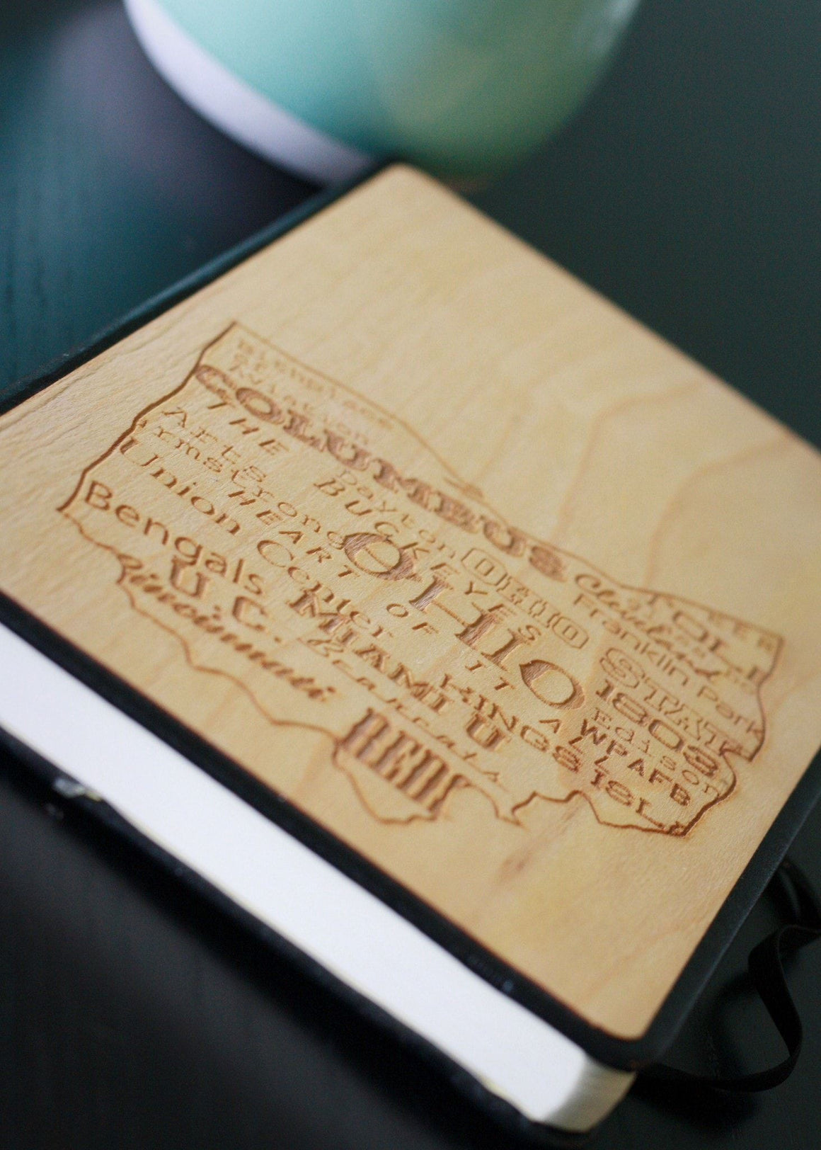Customize The Wooden Journal