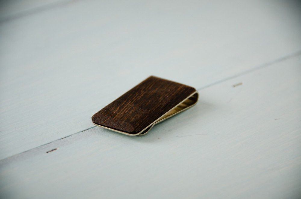 Money Clip - Exotic Wooden Money Clip -  - District 31 - 1