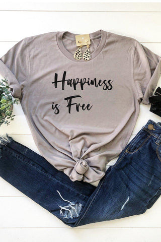 Happiness is Free tee