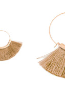 Light Brown Tassel Earring