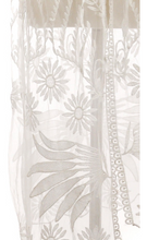 Load image into Gallery viewer, Sheer Leaf Embroidered Kimono