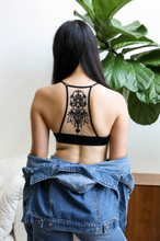 Load image into Gallery viewer, Tattoo Mesh Bralette