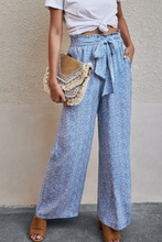 Load image into Gallery viewer, Wide Leg Baby Blue Pant