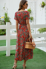 Load image into Gallery viewer, Floral Cocktail Dress