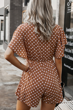 Load image into Gallery viewer, Vivian Polka Dot Romper
