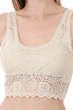 Load image into Gallery viewer, Seamless Stretch Lace Bra
