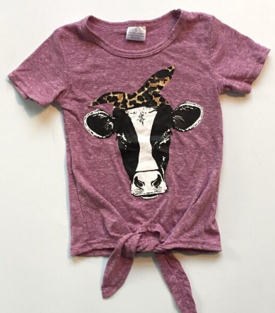 Fashion Cow Top