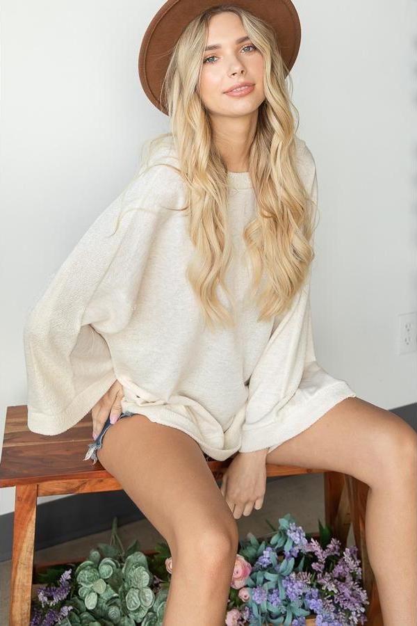Comfy Oversized Pullover Sweater