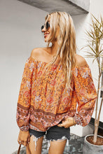 Load image into Gallery viewer, Floral Off The Shoulder Top