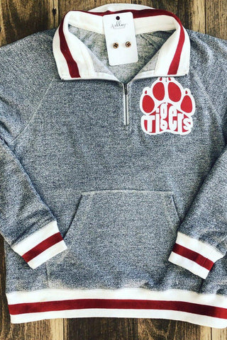 Vintage quarter zip sweatshirt