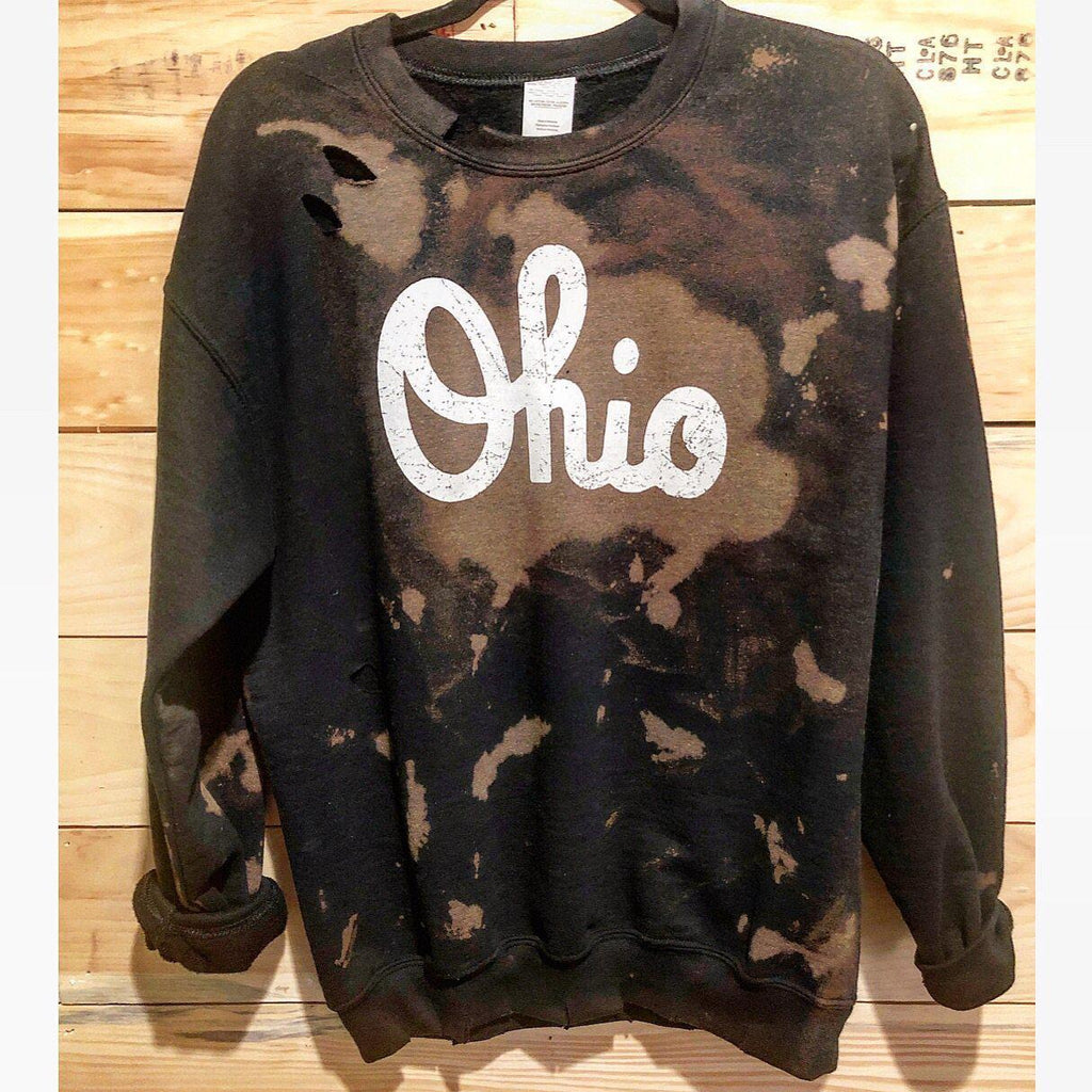Vintage/Distressed Ohio Crew