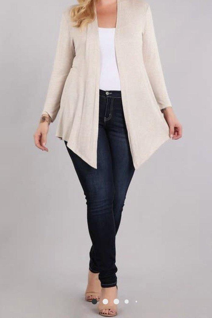 Cardigan Plus Size