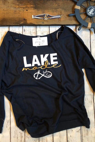 LakeMode Lake Erie Off The Shoulder Top