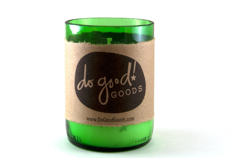 do good! candles - beer bottle