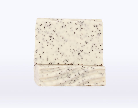 Peppermint + Poppy Goat's Milk Soap