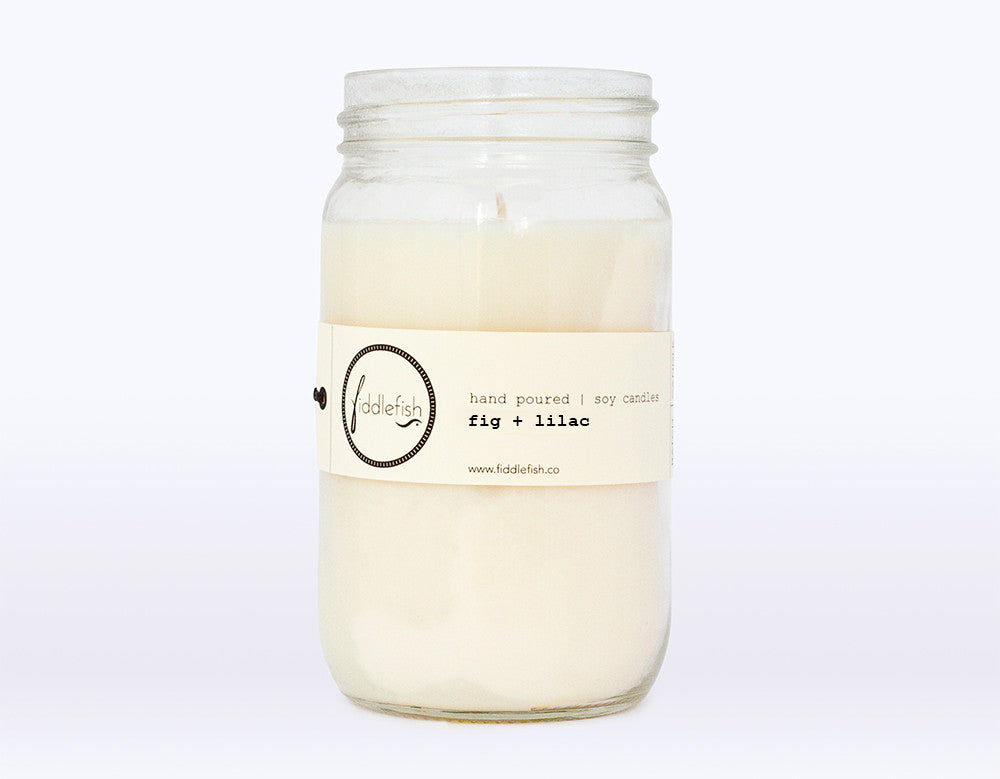 Fig + Lilac Soy Candle
