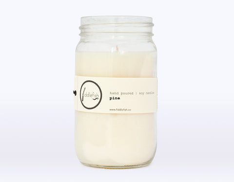 Pine Soy Candle *LIMITED STOCK*