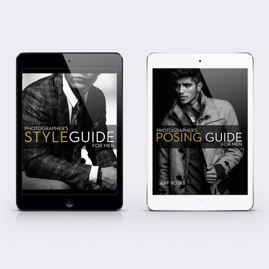 Photographer's Guide to Posing and Styling Men Pack
