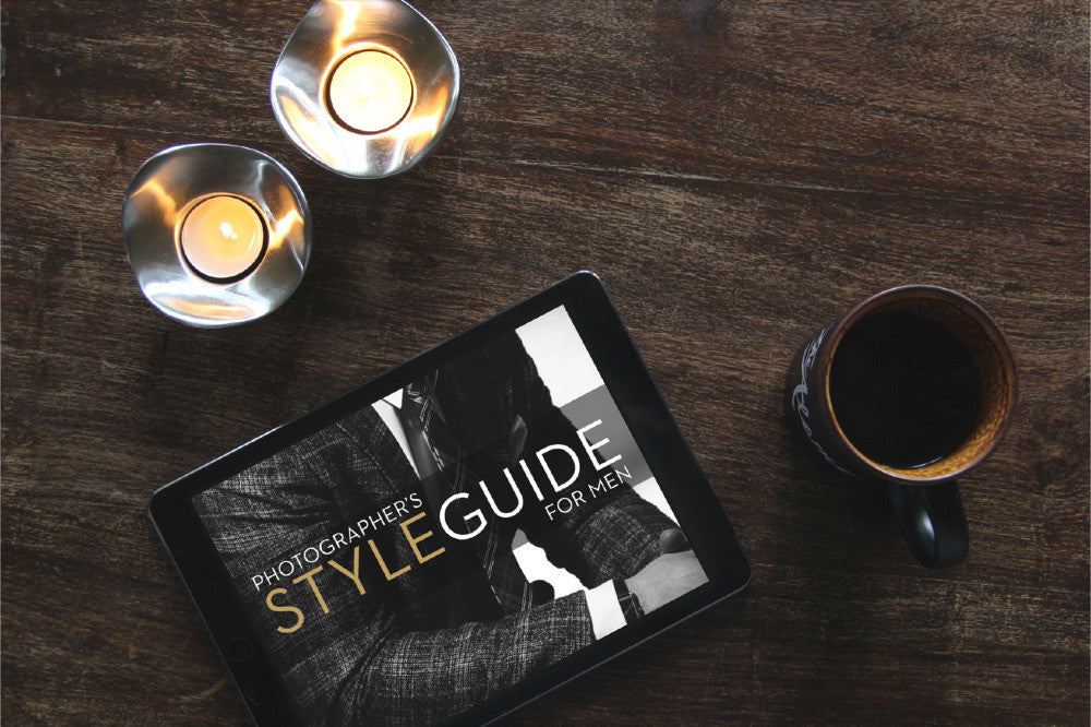 Photographer's Styling Guide For Men - STORE - JEFF ROJAS