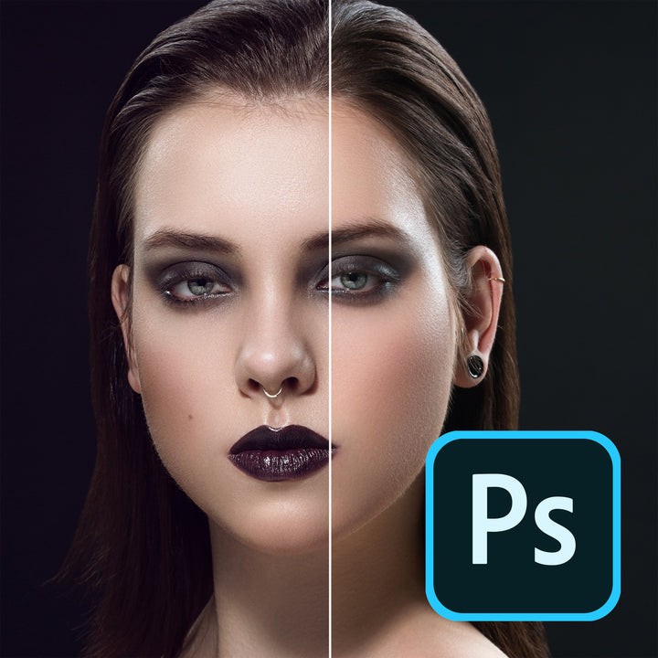 Photoshop Violet Shadows Action