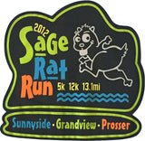 Sage Rat Run Ladies 2012 Tech Shirt