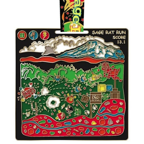 Angry Bugs Virtual Run Medal
