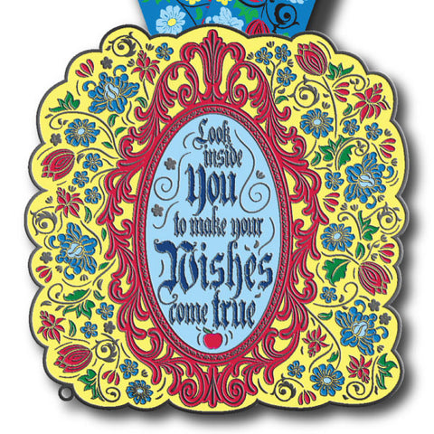 Look Inside You Virtual Run Medal