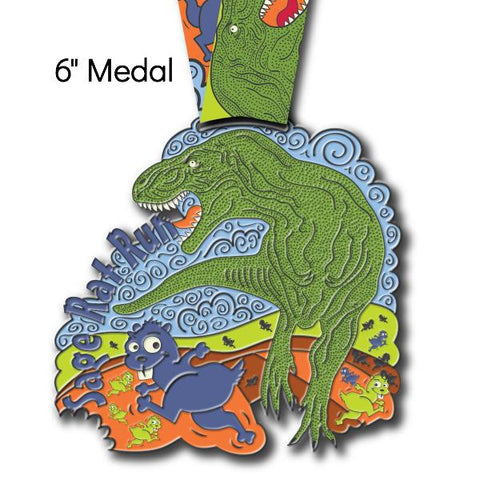 Sage Rat Run T-Rex Medal
