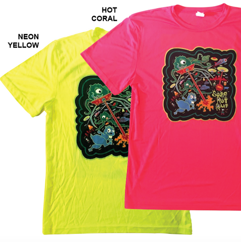 Sage Rat Run Youth Alien Tech Shirt