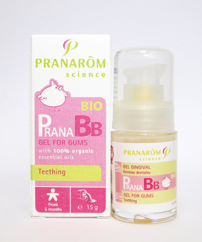 PranaBB Organic Baby Teething Gel