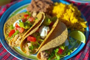 "Cita's ""30 Minutes to Fiesta"" meal"