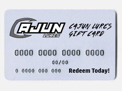 Gift Card,Gift Card - Cajun Lures