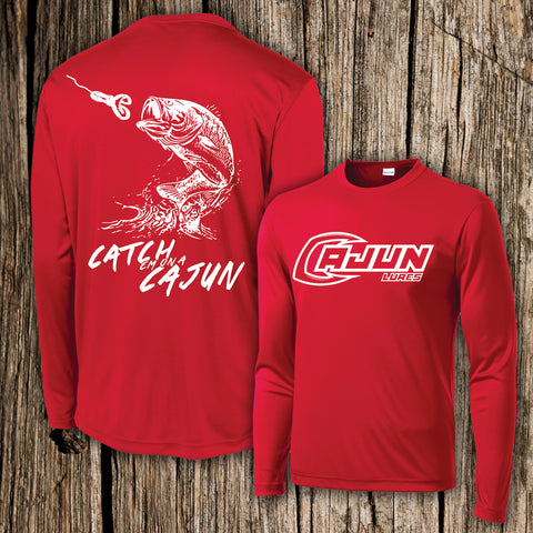 Bass Performance Fishing Shirt - Cajun Lures