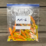 Mad Minna - 22pk - Sandwhich Bag Special, - Cajun Lures