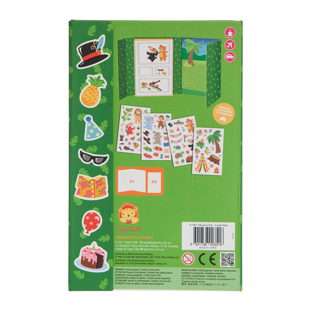 Tiger Tribe Fabulous Felt - Jungle Party