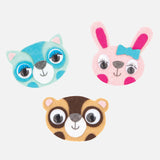 Tiger Tribe Felt Badges Kit Animals